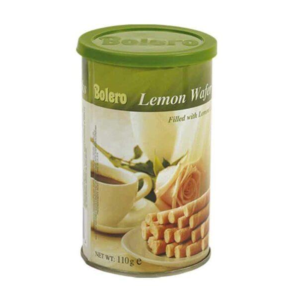Bolero Lemon Wafer Sticks