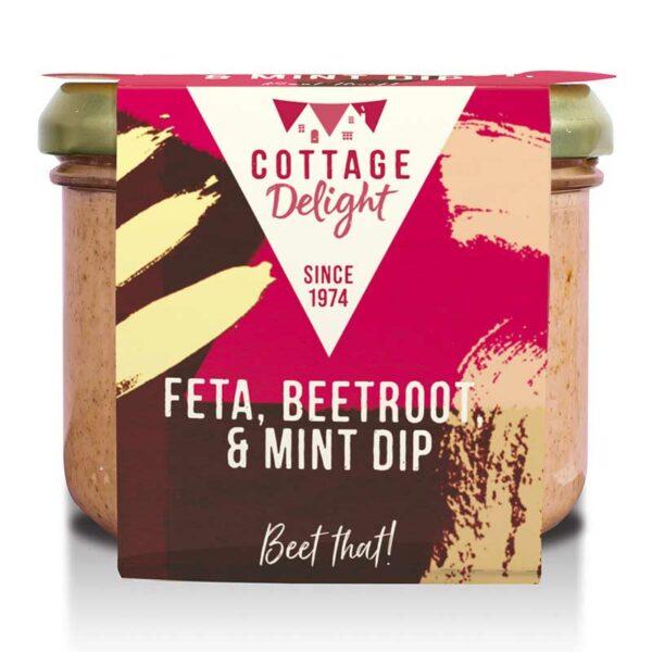Cottage Delight Feta, Beetroot & Mint Dip (180g)