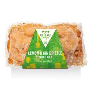 Cottage Delight Lemon & Gin Drizzle Sponge Cake