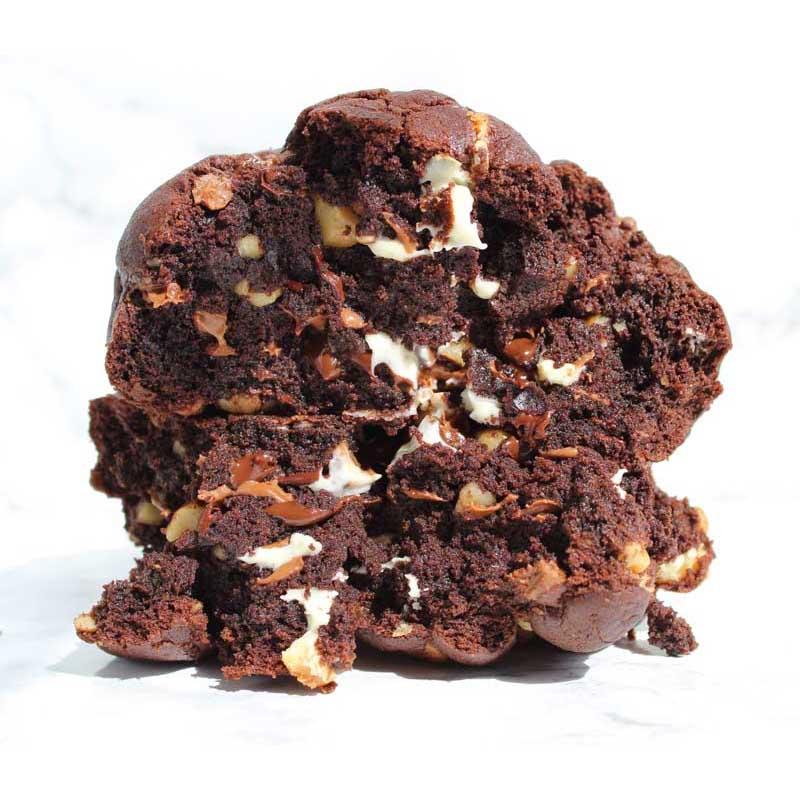Chocolate threesome