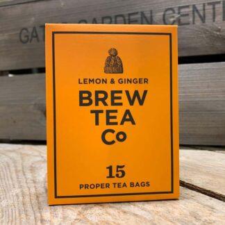 Brew Tea Co - Lemon & Ginger Tea bags