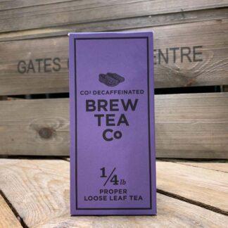 Brew Tea Co - CO² Decaffeinated Loose Leaf Tea