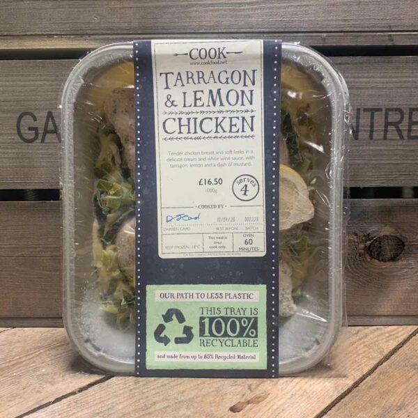 COOK Tarragon And Lemon Chicken - Serves 4