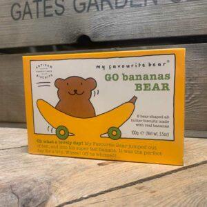 Artisan Biscuits Go Bananas Bear 100g