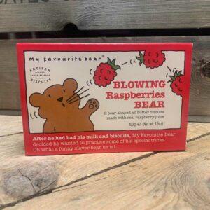 Artisan Biscuits Blowing Raspberries Bear 100g
