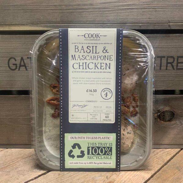 COOK Basil & Mascarpone Chicken - Serves 4