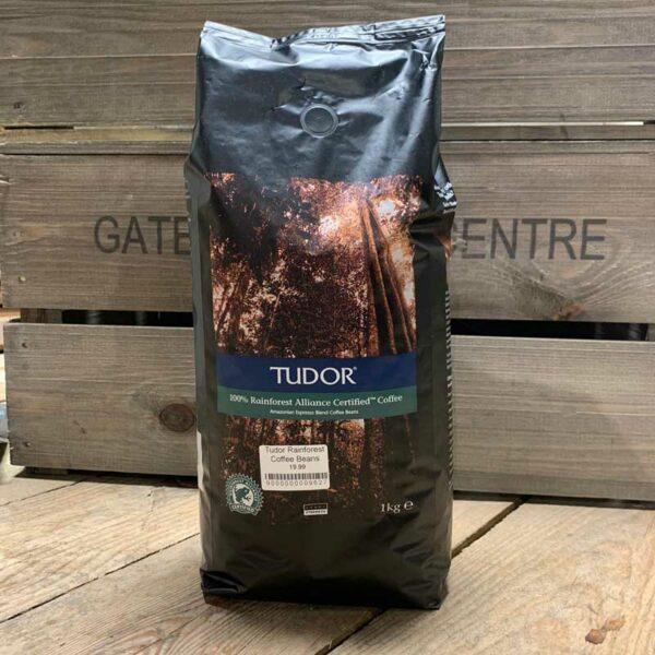 Tudor Rainforest Coffee Beans 1kg