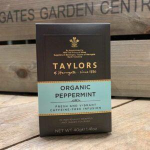 Taylors Organic peppermint Tea Bags