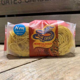 Blue Dragon Medium Egg Noodles 6 Nests 300g
