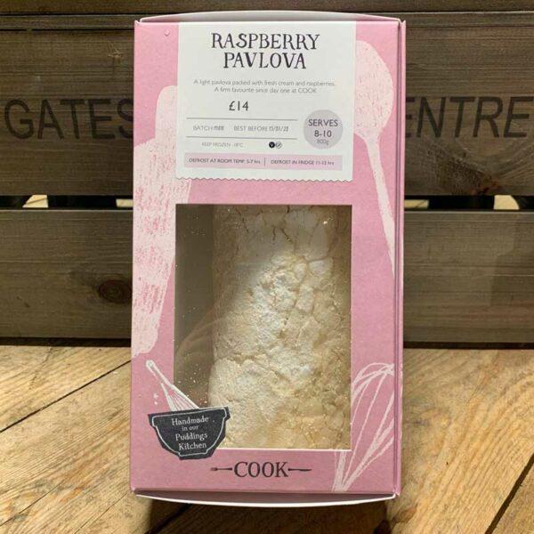 COOK Raspberry Pavlova - Serves 8 - 10