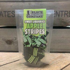 Black Liquorice Co Apple Stripes (175g)