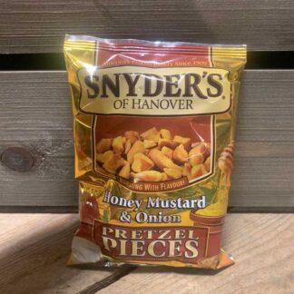 Snyders Pretzel Pieces Honey Mustard & Onion (125g)
