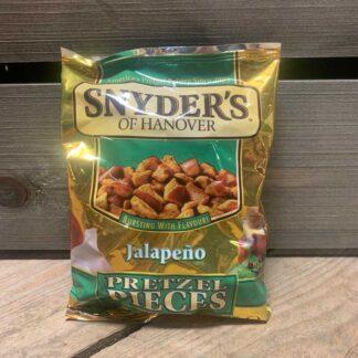 Snyders Pretzel Pieces Jalapeno (125g)