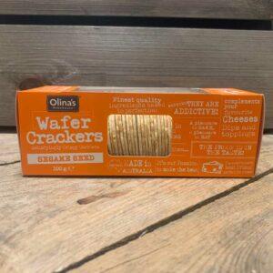 Olina's Bakehouse Sesame Wafer Crackers (100g)