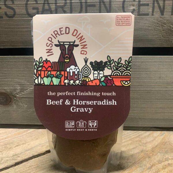 Inspired Dining Beef & Horseradish Gravy (200g)