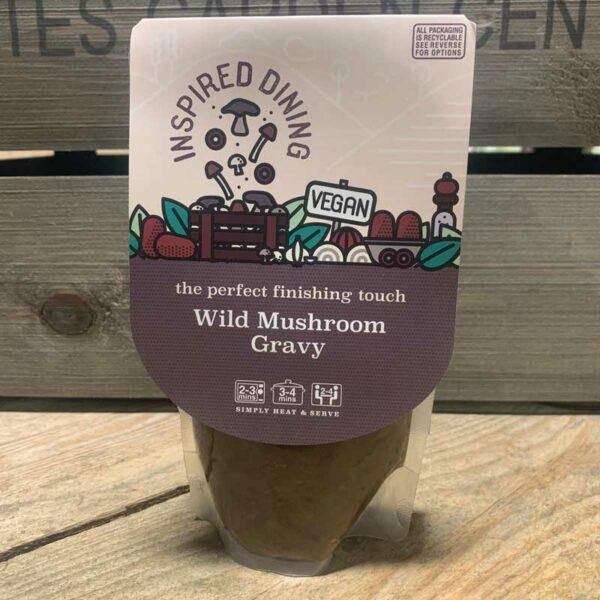 Inspired Dining Wild Mushroom Vegan Gravy (200g)