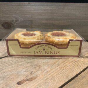Patteson's Original Gluten Free Jam Coconut Rings (6 pack)