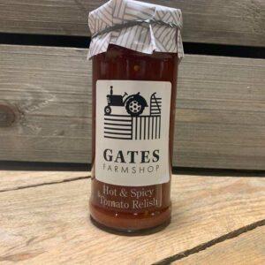 Gates FS Hot & Spicy Tomato Relish 280G