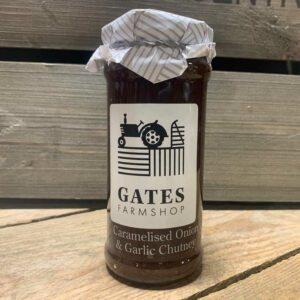 Gates FS Caramalised Onion & Garlic Chutney 295g