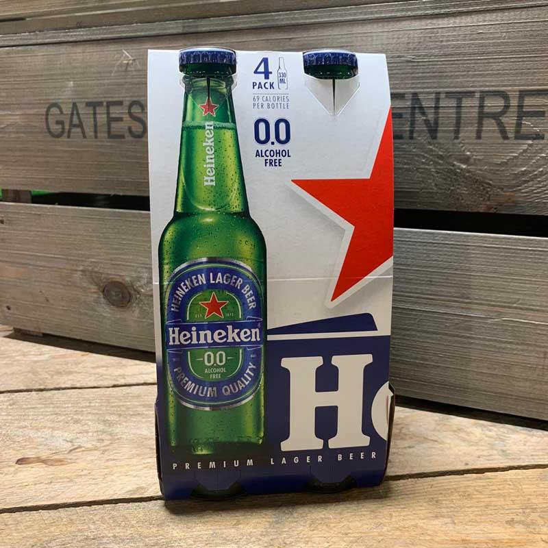 what percent alcohol is heineken beer