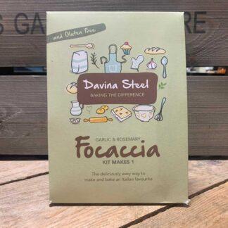 Davina Steel Gluten Free Garlic & Rosemary Focaccia Kit 352g