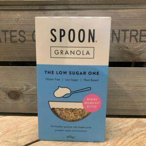 Spoon Granola The Low Sugar One Gluten Free 400g