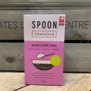 Spoon Dark Choc Zing Granola 400g