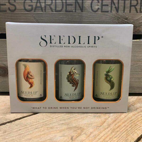 Seedlip Non - Alcoholic Spirits Gift Box.