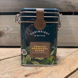 Cartwright & Butler English Breakfast Loose Leaf Tea Caddy 100g