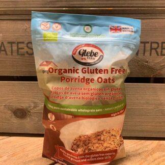 Glebe Farm Organic Gluten Free Porridge Oats 450g