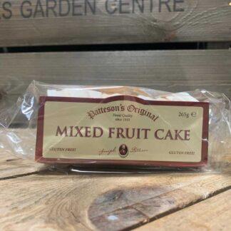 Patteson's Original Mixed Fruit Cake Gluten Free 285g
