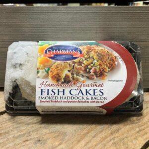 Chapmans Smoked Haddock and Bacon Fish Cakes