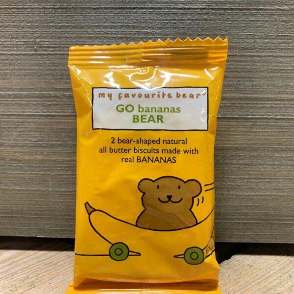 Artisan My Favourite Bear Biscuits Go Bananas Bear 25g