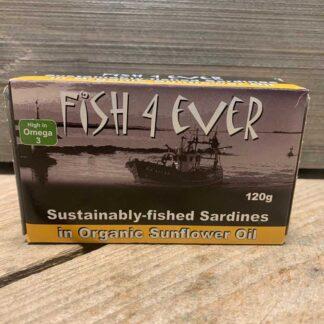 Fish 4 Ever- Sardines in Sunflower Oil 120g