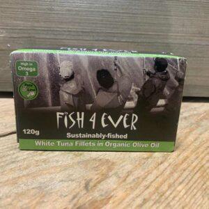 Fish 4 Ever- White Tuna in Olive Oil 120g