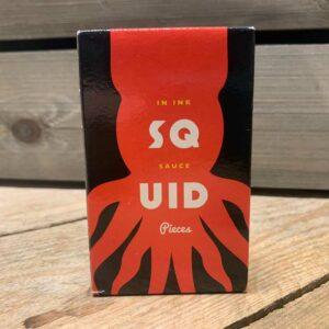 Squid in Ink Sauce