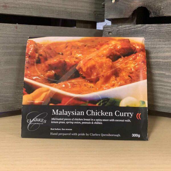 Clarkes Queniborough Malaysian Chicken Curry 300g