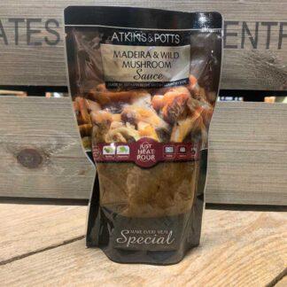 Atkins & Potts Madiera & Wild Mushroom Pasta Sauce 350g