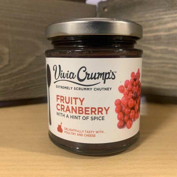 Vivia Crump's Fruity Cranberry Chutney 200g