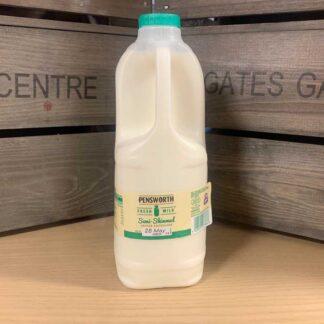 Pensworth Semi Skimmed Milk 2 Litre