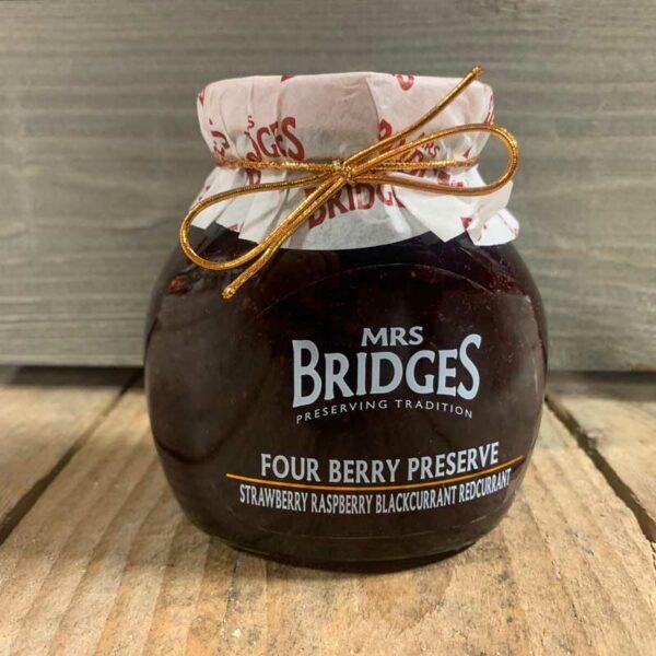 Mrs Bridges Four Berry Preserve 113g