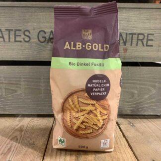 ALB GOLD - Organic Spelt Fusilli (Paper) 500g