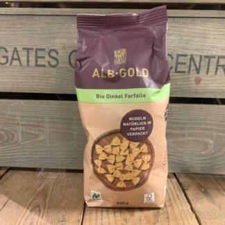 ALB GOLD - Organic Spelt Farfalle Pasta (Paper) 500g