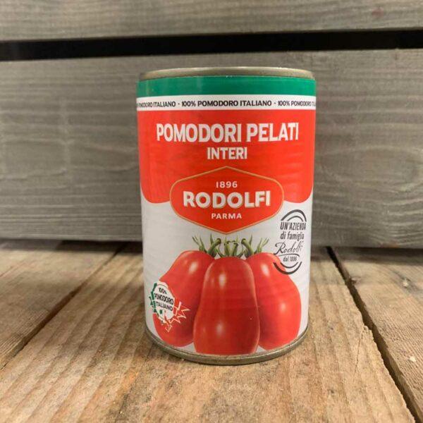 Rodolfi - Whole Peeled Italian Tomatoes 400g