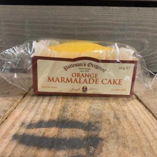 Patteson's Original Orange Marmalade Cake Gluten Free 265g