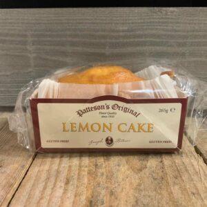 Patteson's Original Gluten Free Lemon Cake 265g