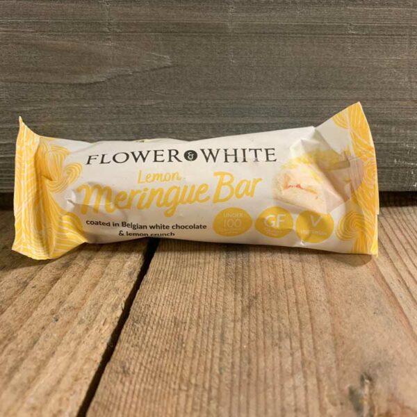 Flower & White Lemon Meringue Bar 23.5g