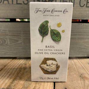 Fine Cheese Basil & Ex Virgin Olive Oil Crackers 125g