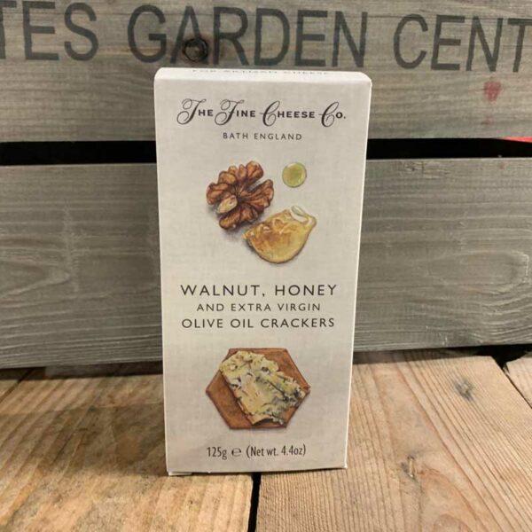 Fine Cheese Walnut/Honey & Ex Virgin O/Oil Crackers 125g
