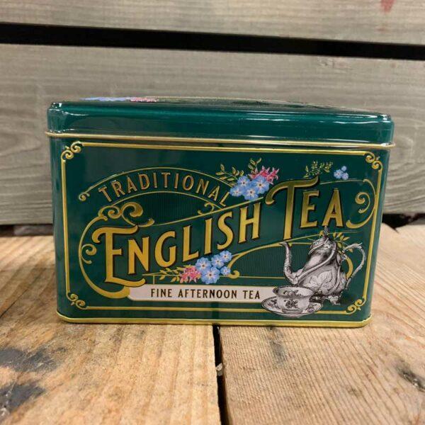 Vintage Victorian 40 Teabag Tin A/T